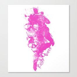 Killer Queen Abstract Canvas Print