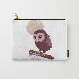 Owlways kiss me goodnight Carry-All Pouch