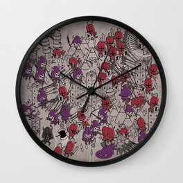 The Great Battle of 1211 Wall Clock