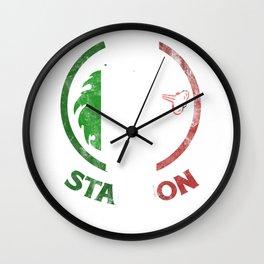 Italian Stallion shirt Italy horse funny gift Wall Clock