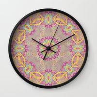 dancer Wall Clocks featuring Dancer by Lisa Argyropoulos