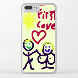 THE RELATIONSHIP,  A LOVE STORY Clear iPhone Case