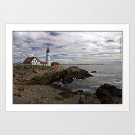 Maine Splendor Art Print
