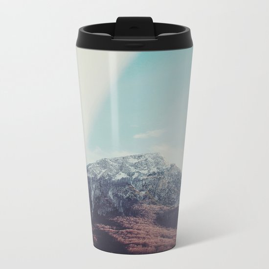 Mountains in the background XIII Metal Travel Mug