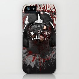 When there's no more room in Hell....Vader. iPhone Case