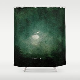 Midnight on the Road Shower Curtain