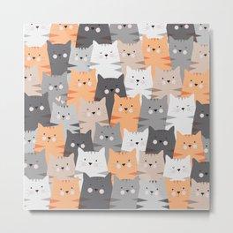 Cats Cats Cats Metal Print