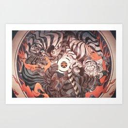 Strife Art Print