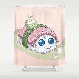 Sushi Shower Curtain