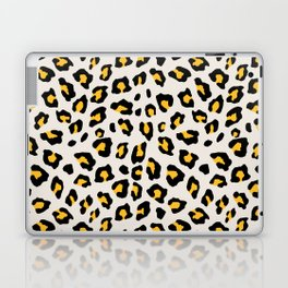 Leopard Print - Mustard Yellow Laptop & iPad Skin