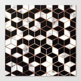 Marble & Geometry 005 Canvas Print