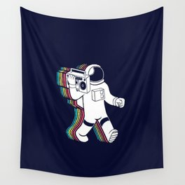 The Sound Of The Space Wall Tapestry