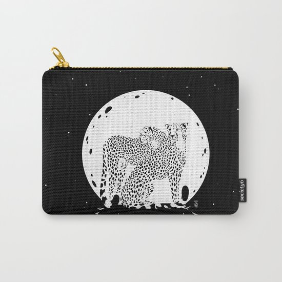 Moonlight Cheetahs Carry-All Pouch
