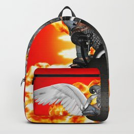 Biker of the Apocalypse-Conquest Backpack