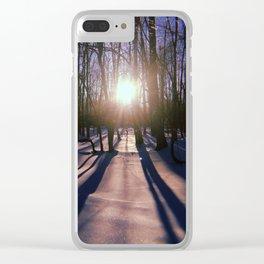 Dawn Clear iPhone Case