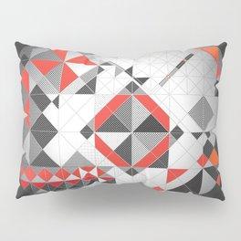Splash of red Pillow Sham