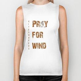 Kitesurfers Pray for Wind Biker Tank