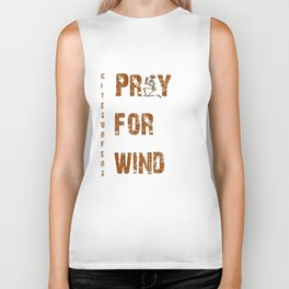 Kitesurfers Pray for Wind Biker Tank