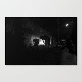 3rd Shift Canvas Print