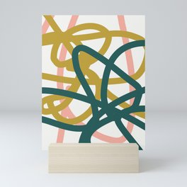 Abstract Lines 02A Mini Art Print