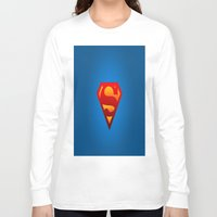 superhero Long Sleeve T-shirts featuring SUPERHERO by Acus