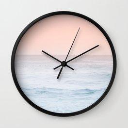 Pastel ocean mist #society6 Wall Clock