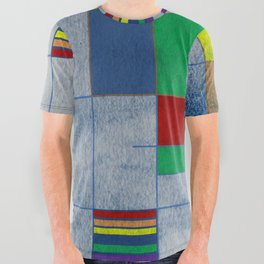 MidMod Rainbow Pride 1.0 All Over Graphic Tee