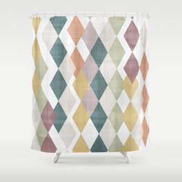 Rhombuses 2 Shower Curtain