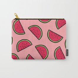 Watermelon Pattern in Pink Carry-All Pouch