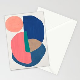 Shapes Abstract 1 Stationery Cards