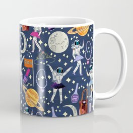 Dancing Across Galaxies Coffee Mug