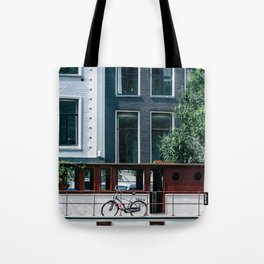 A Day in Amsterdam Tote Bag