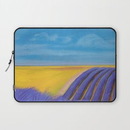 LAVENDER FIELD of SANTA YNEZ Laptop Sleeve