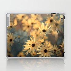 Autumn Botanical Muted Sunflowers Laptop & iPad Skin