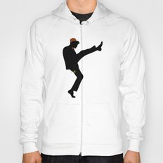 The 11th Doctor of Silly Walks Hoody