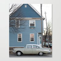 milwaukee Canvas Prints featuring Classic Milwaukee by Dawn Silva