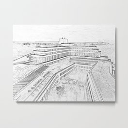 Luxembourg from the inside Metal Print