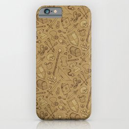 Inventory in Sepia iPhone Case