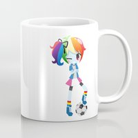 mlp Mugs featuring MLP - Rainbow Dash by Choco-Minto