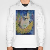 indigo Hoodies featuring Indigo by Michael Creese