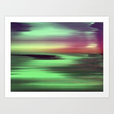SCANSET 1 Art Print