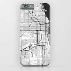 Chicago Map Gray Slim Case iPhone 6s