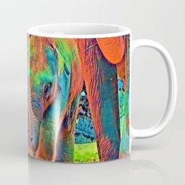 AnimalColor_Elephant_001_by_JAMColors Coffee Mug