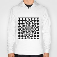 chess Hoodies featuring Chess Board by Cs025
