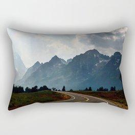 Grand Tetons Rectangular Pillow