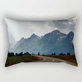 Grand Tetons Rectangular Pillow