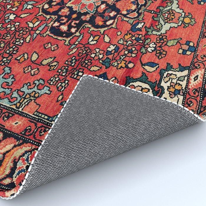 Farahan Arak West Persian Poshti Print Rug