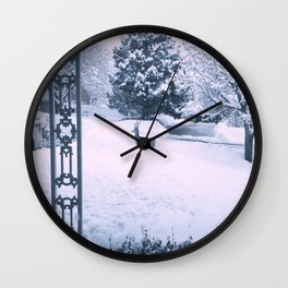morning walk Wall Clock