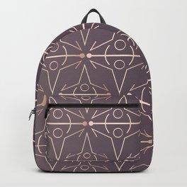 Charcoal Mythology Textile Backpack
