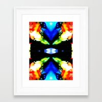 instagram Framed Art Prints featuring Instagram? by wendyasumadu